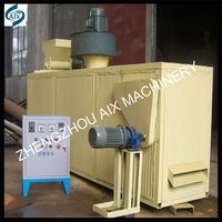 High efficiency fish feed pellet dryer to reduce pellet moisture content
