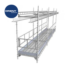High quality Aluminium Building scaffolded systems suspended scaffold