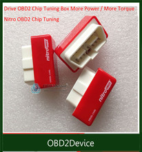 One Year Warranty Plug and Drive OBD2 Chip Tuning Box Performance NitroOBD2 for Diesel Cars