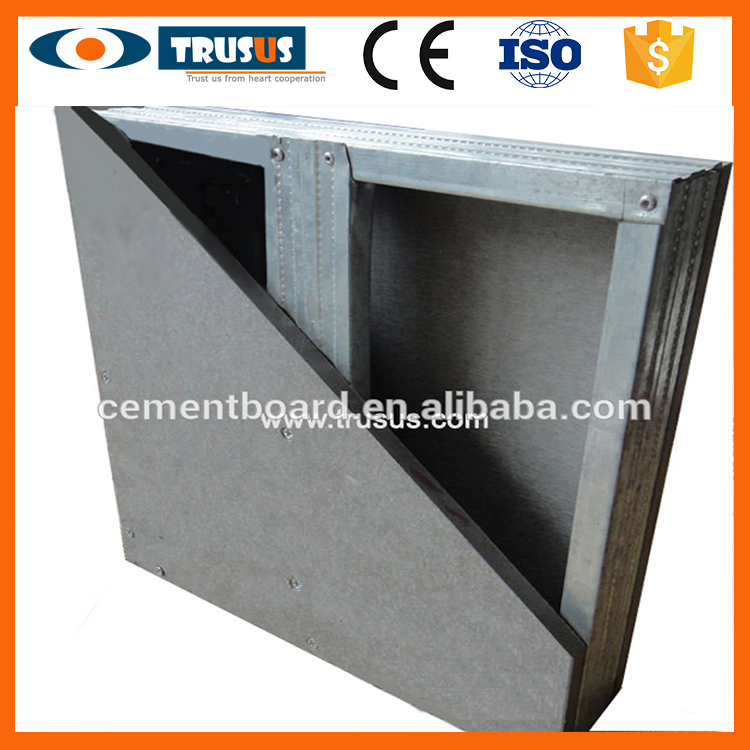 Building Material Exterior Cladding Partition Exterior Wall Cement Panel