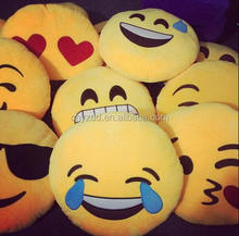 Emoji patched,Cushion emoji/free sample Custom Made cheap emoji cushion For Sale