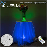 JEJA Under Table Light Bases Lighting Green LED Battery Operated Light
