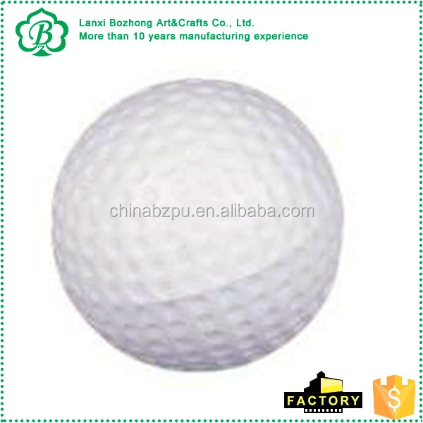 Most popular promotional PU mini golf, PU golf ball