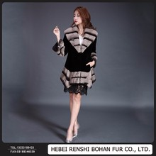 Made in China Modern Mink Fur Coat