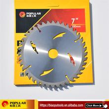 Professional wood cutting tct circular saw blade with CE certificate