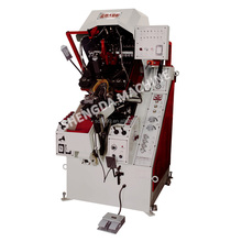 hydraulic automatic shoe toe lasting machine with centralized control 9 pinces