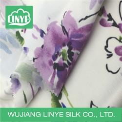 maxi dress fabric material , water print fabric