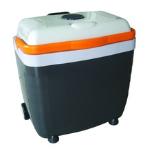 portable mini fridge cooler warmerr box with trolley 28L ErP A