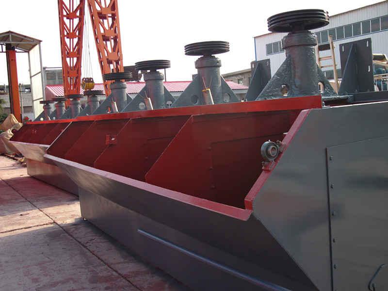 Gold ore and copper ore flotation machine manufacturer