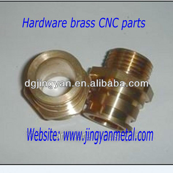 Hardware brass CNC machining