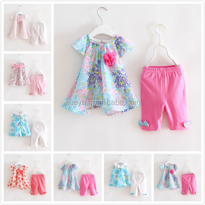 Newborn kids baby girls 1st birthday outfit