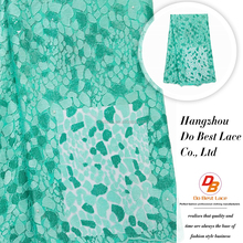 high quality 100% cotton african lace embroidery fabric factory in guangzhou