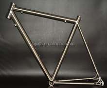 professional high light titanium road bike frame