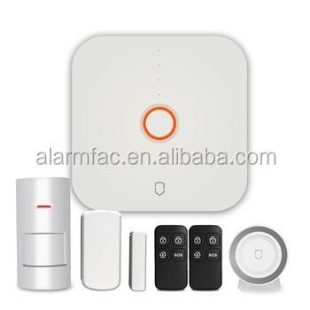 2017 Zigbee wifi smart home alarm wireless control automation domotic system