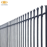 hot sales alibaba china 2.4m high palisade fence,palisade fences on sale,cheap palisade fences on sale