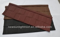 Stone Coated Metal Colorful Roofing Tile/shingle tile /makuti grained tile