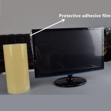 Self-Adhesive Clear PE Plastic Film Surface Protective Film for Glass /Metal/Steel Product