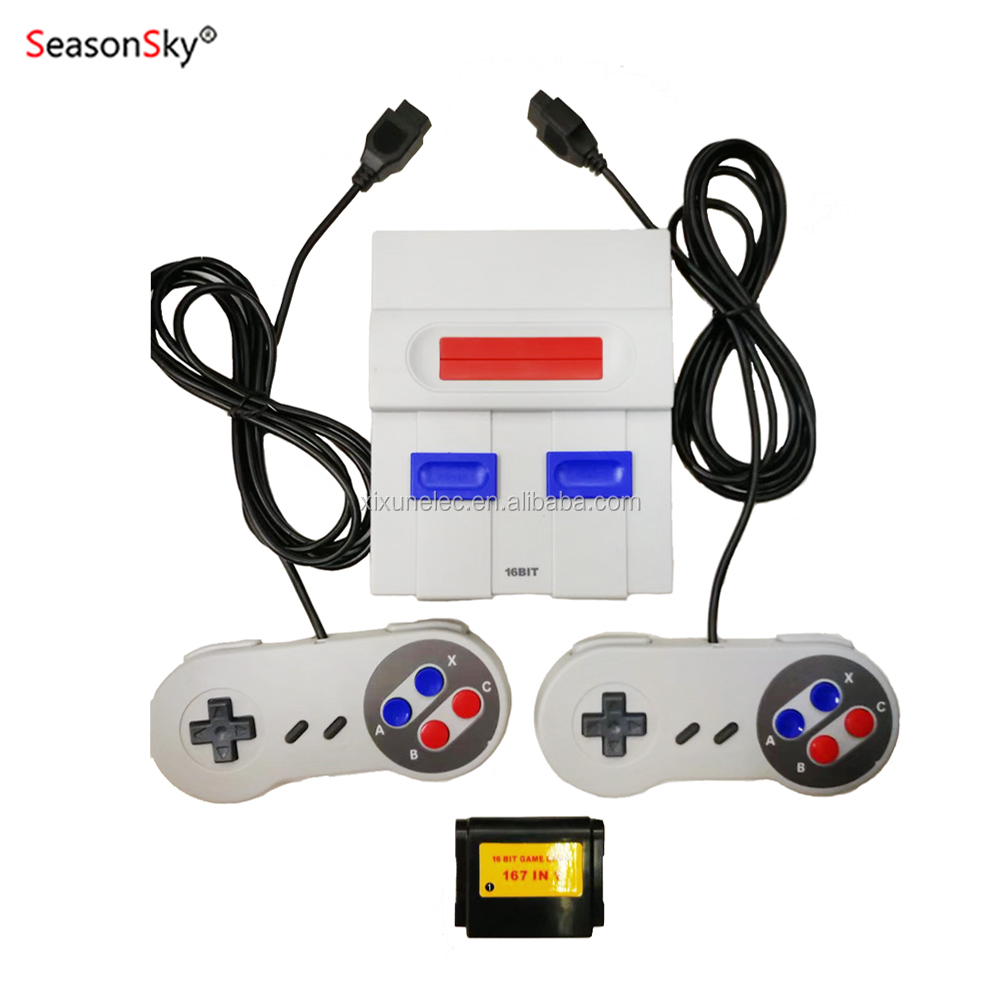 Xixun Handheld Portable Console Retro TV Game Console Super Mini MD SG-105 Video TV Game 16 BIT