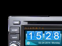 TV DVD MP3 player GPS car audio system for cherry tiggo 3