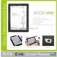 ebook reader e-ink Wholesalers ONYX M96 9.7 inch freescale 6 with stylus