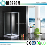China cheap lows freestanding aluminium profile shower enclosure