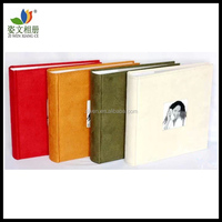Best quality elegant wedding album 4x6 200 photos 4 colors for choose