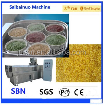Fully Automatic Nutritional Rice Machine/Machinary/Processing Line/plant
