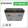 Bluesun lead acid forklift battery 2v 800ah with ISO CE ROHS UL Certificate