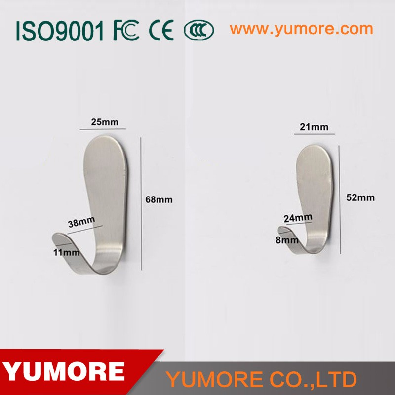 Cheapest Hanger hook J shaped manufactured in China