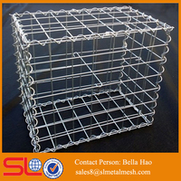Stainless steel gabion basket retaining wall stone cage