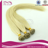 Alibaba 6a top quality 613 indian remy hair wholesale blond virgin hair