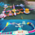 Durable 0.9mm pvc tarpaulin material amazing giant floating inflatable water park for adults