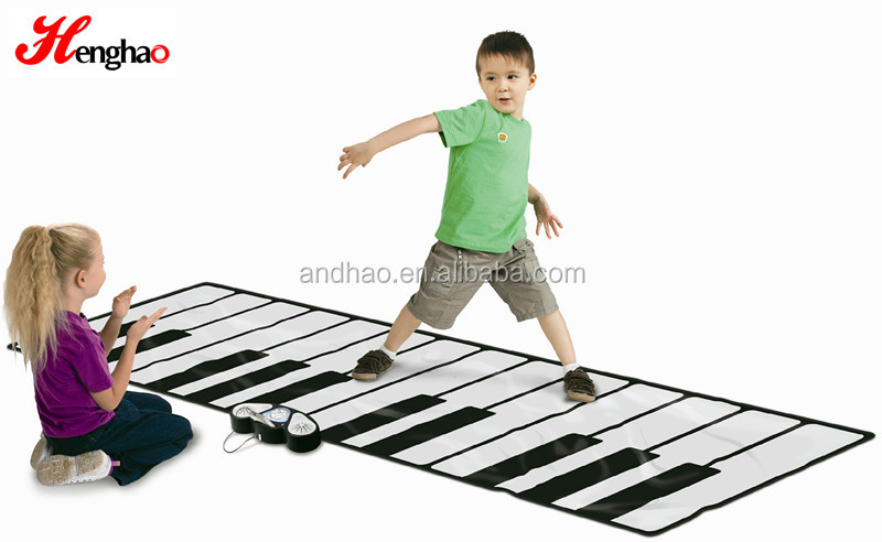 Best selling Kids Musical Instrument Piano Keyboard Dance Play Mat Toys china wholesaler