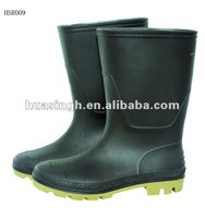 acid resistant knee high gumboots,full PVC cheap price rain boots