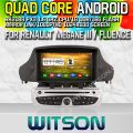Witson S160 Android 4.4 Car DVD GPS For RENAULT Megane III FLUENCE with Quad Core Rockchip 3188 1080P 16g ROM WiFi 3G Internet