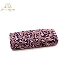 floral metal optical glasses carrying cases