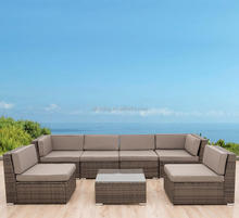 patio wicker set,rattan furniture,outdoor rattan sofa set