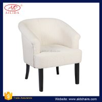 AC-188 White Leather Dining Chair Accent Chair Cheap Sofa Chair