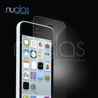 Nuglas Tempered Glass for Apple iPhone 5s Screen Protector, Best Tempered Glass Screen Protector for iPhone 5s