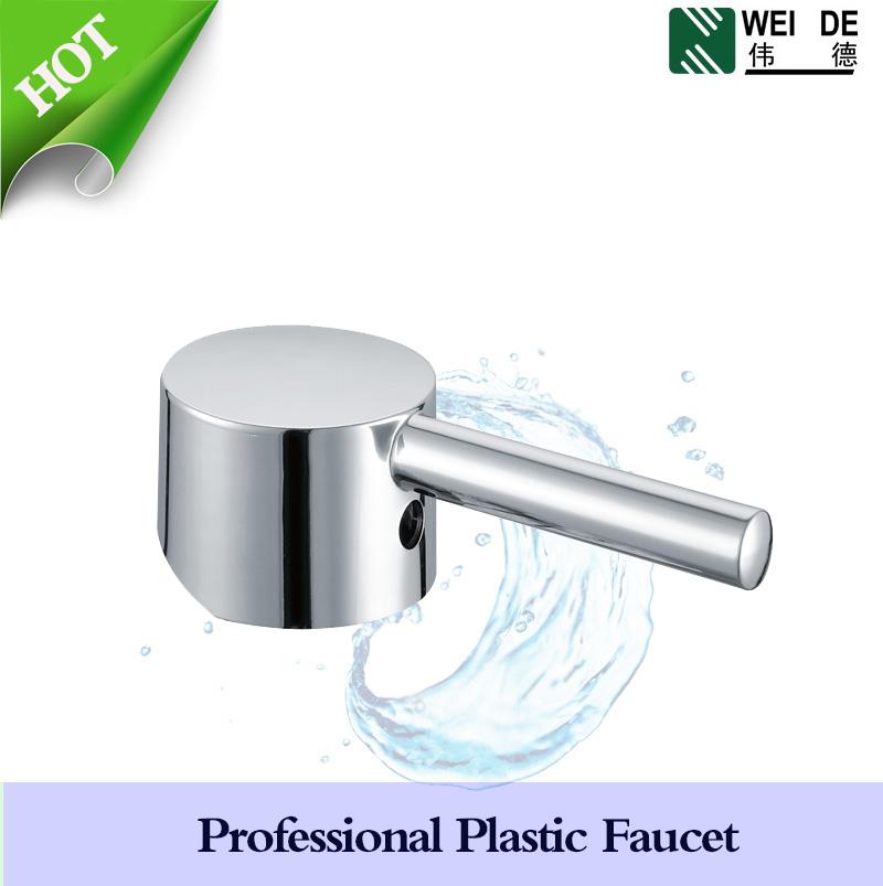 Abs Chrome Plastic Water Tap Handle - Buy Plastic Faucet Handle,Tap ...