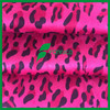 China manufacturer polyester leo printed ultra suede fabric