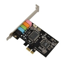 PCI Express PCI-E 5.1ch 6 Channels Digital CMI8738 3D Audio Sound Card