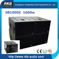 SB1000Z Powerful touring subwoofer speaker