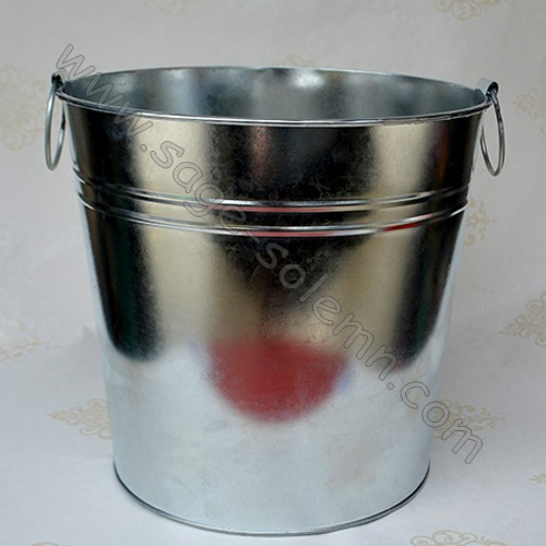 decorative metal bucket with ears buy bucket galvanized