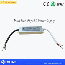 small mini size 10w 12v 0.8a power, ip67 outdoor waterproof 12v non-dimmable constant voltage led driver power supply