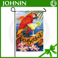 Fall Sunflowers Yellow Finches Mini Autumn Promotional Garden Flag