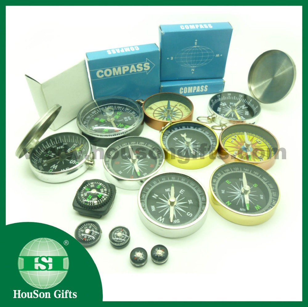 High quality classic pocket Watch round compass mini compass