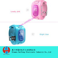 silicone children watch with GPS function