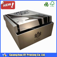 Wholesale cheap custom printed 2 pieces cardboard rigid gift boxes