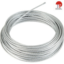 3x7 Galvanized Steel Used Wire Rope Various Cable For Highway